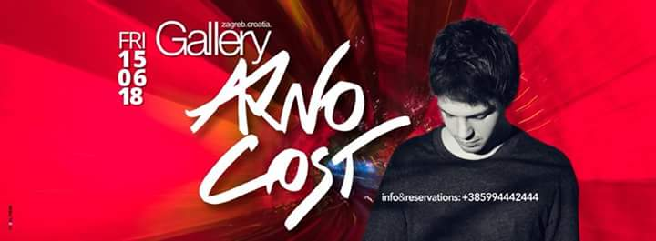 15/06/2018 ARNO COST @ GALLERY CLUB