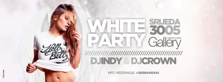 30/05/2018 WHITE PARTY @GALLERY CLUB